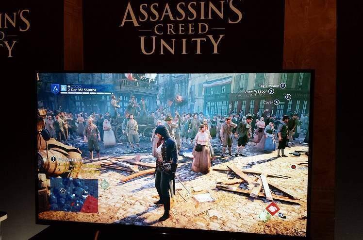 Assassin's Creed Unity: arte e prova del gioco dal Lucca Comics