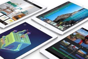 Screenshot della foto promozionale dell'iPad Air 2 presente sul sito Apple