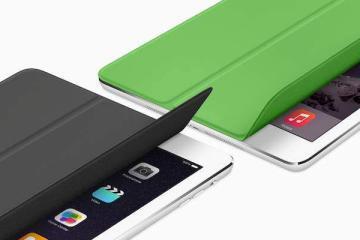 Immagine promozionale della nuova Smart cover per iPad