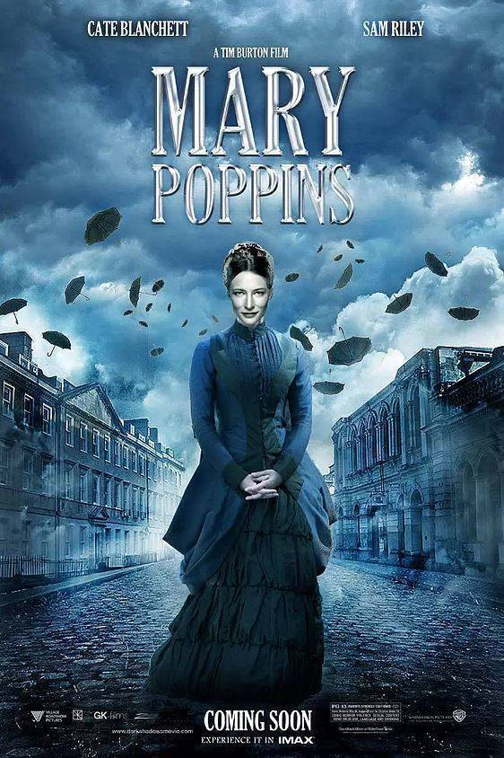 Fake-poster-Mary-Poppins-by-Tim-Burton