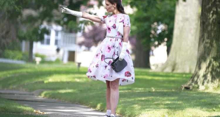 Katie-Holmes, protagonista del nuovo film Miss Meadows