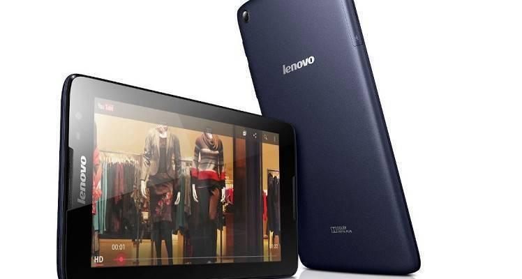 Immagine frontale di Lenovo A8-50