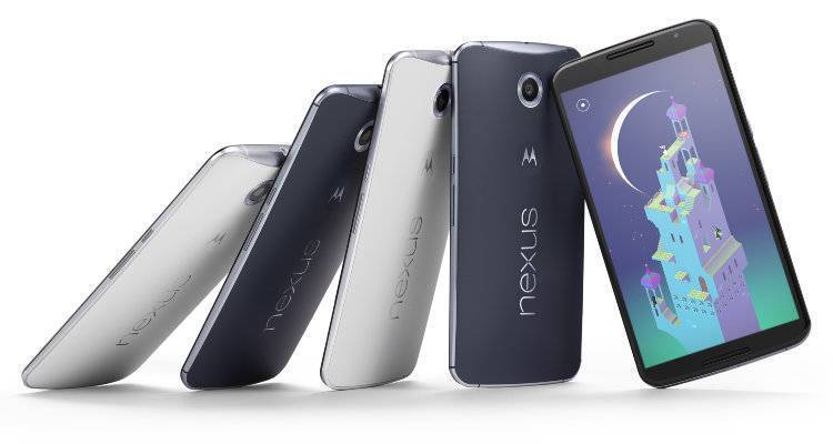Google annuncia Nexus 6 con Android 5.0 Lollipop