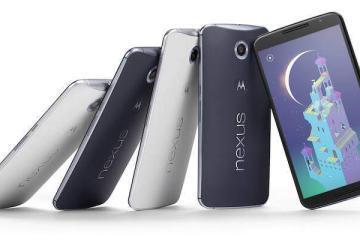 Immagine del Nexus 6 presente sul sito web ufficiale del device