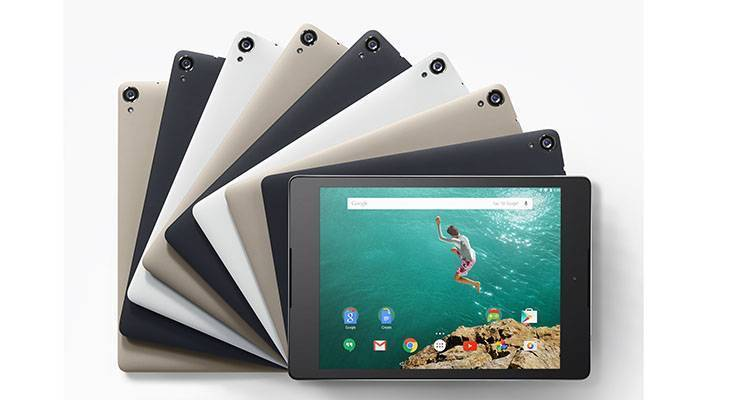 Nexus 9 è ufficiale: tablet HTC con Android 5.0 Lollipop
