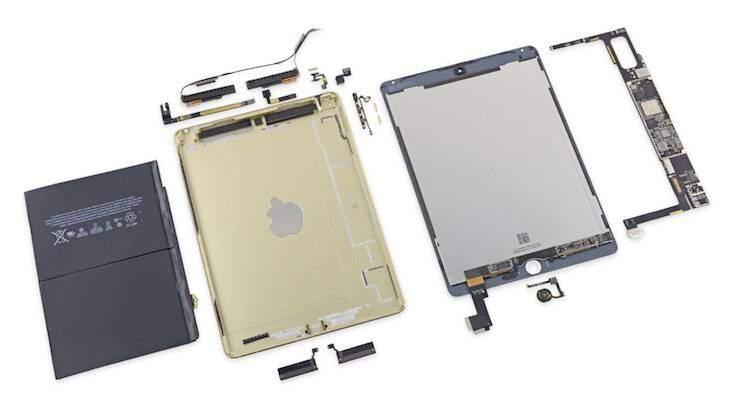 L'iPad Air 2 smontato pezzo per pezzo da iFixit
