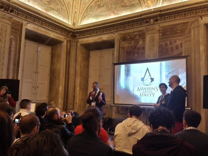 conferenza stampa Assassin's Creed Unity