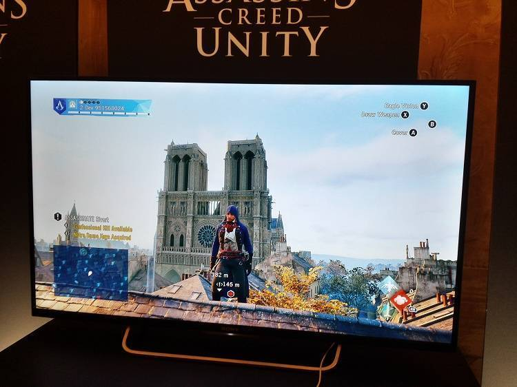 Assassin's Creed Unity Notre Dame