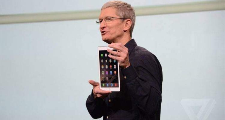 Fotografia dal vivo del nuovo iPad Air 2