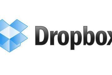 Logo di Dropbox, il famoso servizio di storage online.
