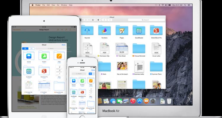 icloud drive multi schermata