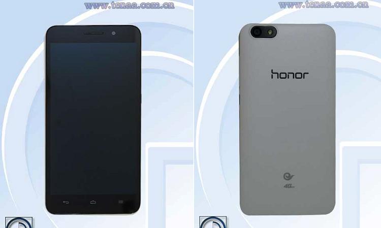Immagine di fronte e retro relativa a huawei honor 4x