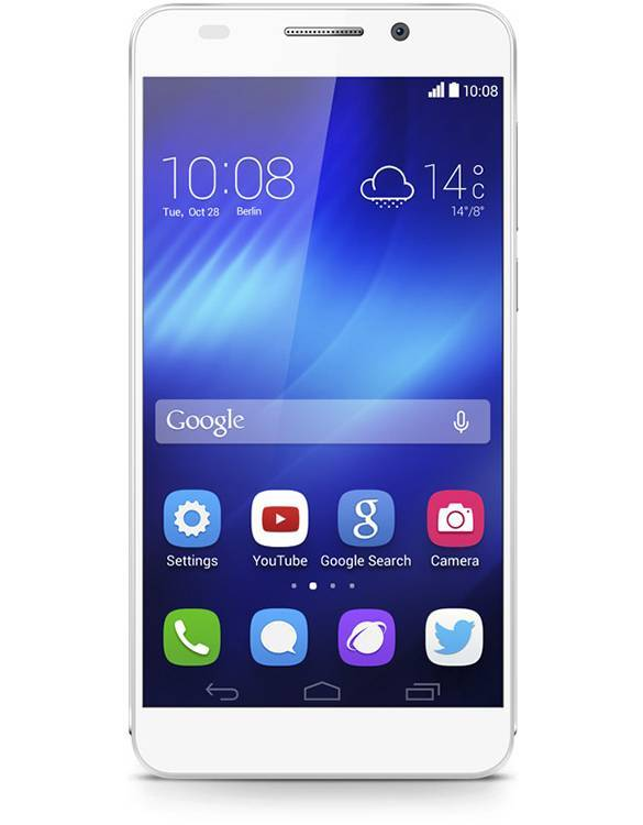 huawei honor 6 fronte