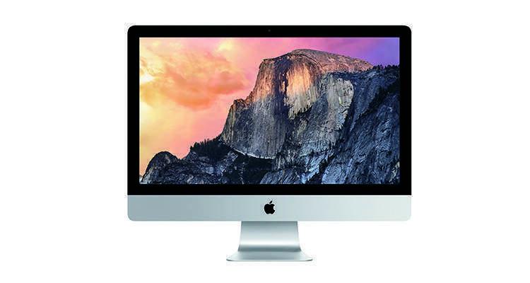 Immagine di iMac con Display Retina 5K, il nuovo modello presentato da Apple.