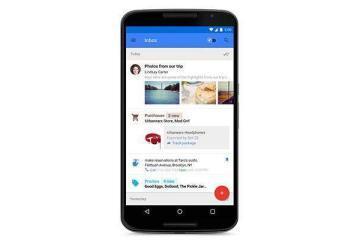 Immagine promozionale di Inbox by Gmail, nuovo servizio di mail del colosso di Mountain View.