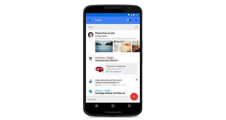 Inbox by Gmail: primo hands-on, video e immagini