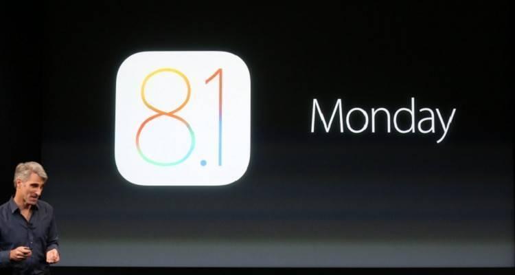 Presentazione ufficiale del nuovo sistema operativo iOS 8.1
