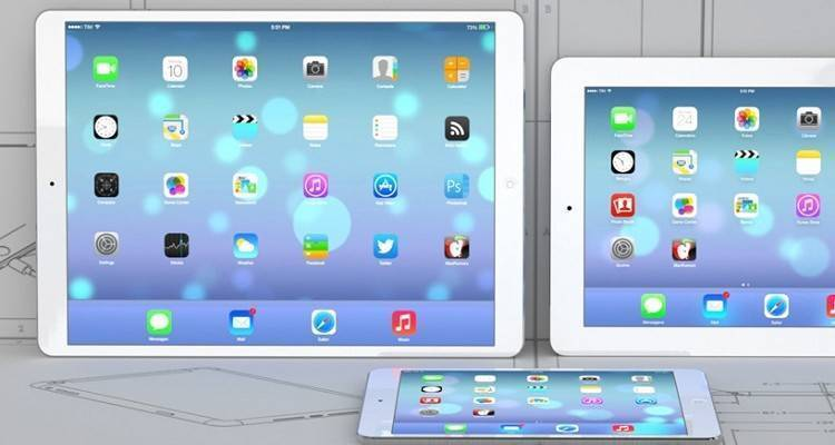 Immagini nuovi iPad prossimi al debutto