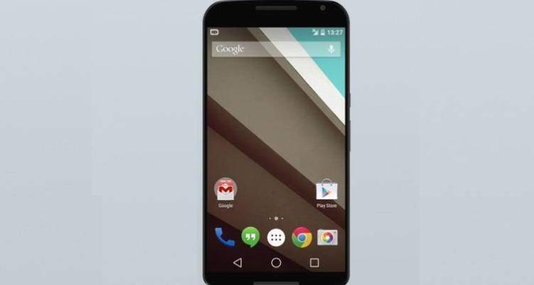Immagine frontale di Motorola Nexus 6