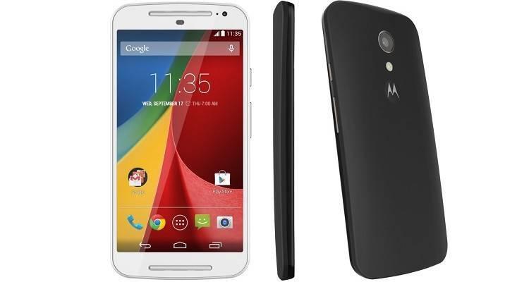 Immagine promozionale del nuovo Motorola Moto G 2014