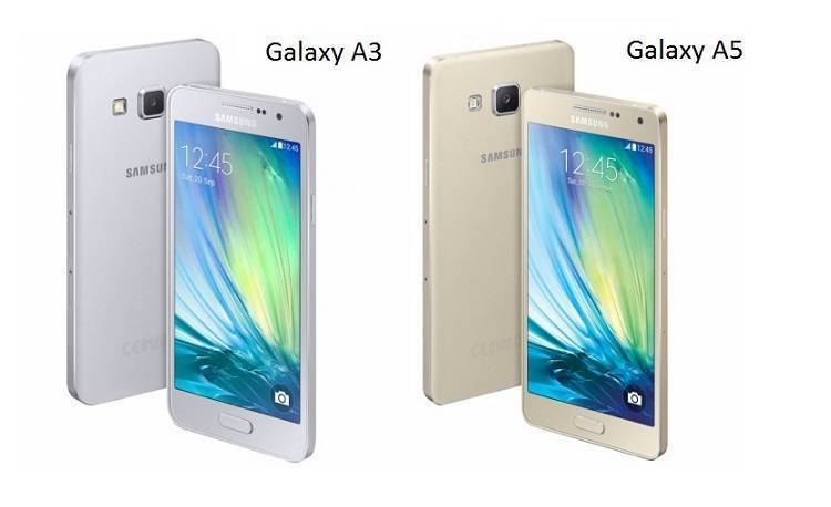 Samsung Galaxy A3 e Galaxy A5 pronti per l'esordio in India