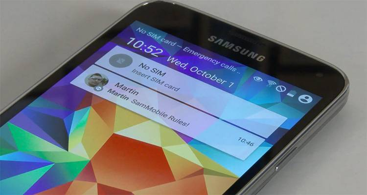 Samsung Galaxy S5: nuovo video per Android 5.0 Lollipop