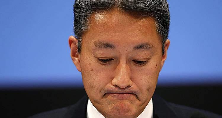 Kazuo Hirai, presidente di Sony Corporation. Ancora dati negativi per il colosso nipponico.