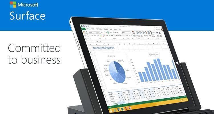 Immagine con cui Microsoft conferma il proprio impegno nei confronti della linea Surface Pro.