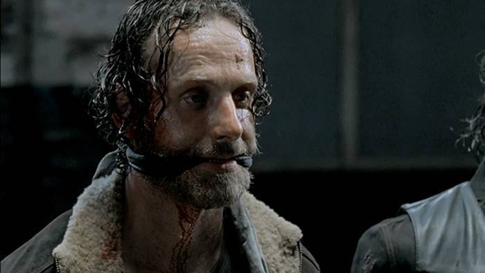Rick è prigioniero nel primo episodio di The Walking Dead 5