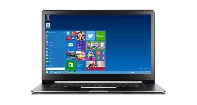 Immagine di Windows 10 Technical Preview, disponibile per il download per gli utenti Windows Insider.