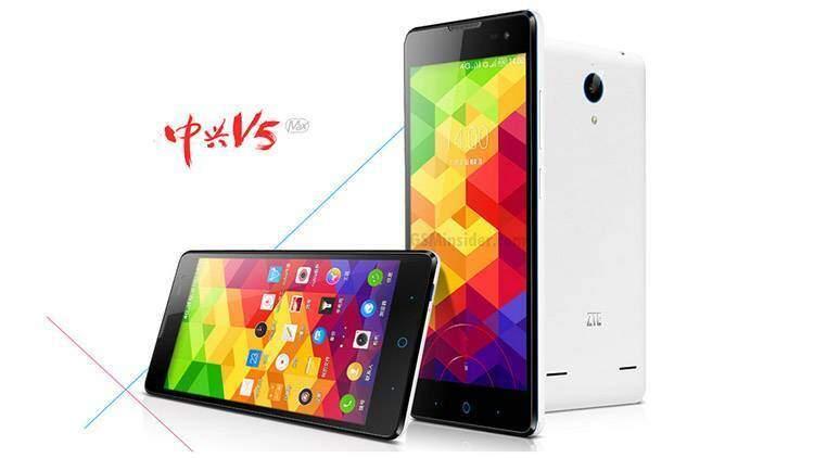 Immagine di ZTE V5 Max, nuovo smartphone Android economico.