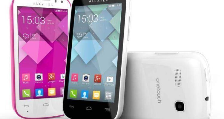 Immagine promozionale Alcatel One Touch Pop C3, uno smartphone Android economico