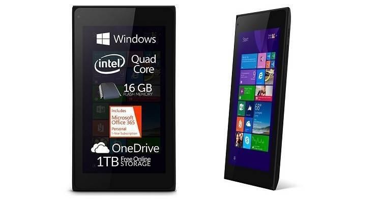 Allview Mobile Wi7, nuovo tablet lowcost con a bordo Windows 8.1