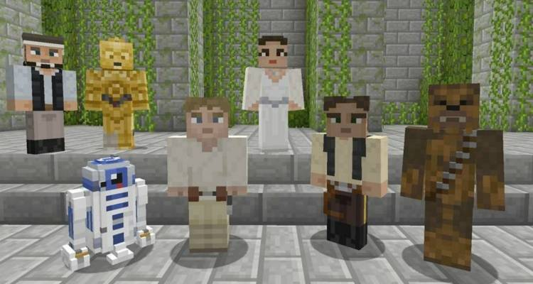 Star Wars Skin Pack per Minecraft su Xbox One