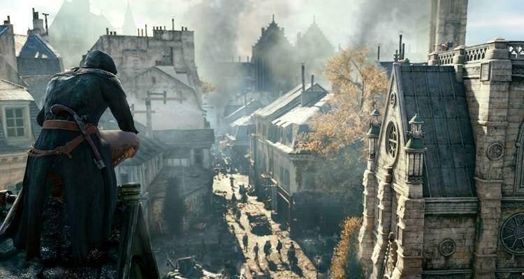Immagine promozionale Assassin's Creed Unity.