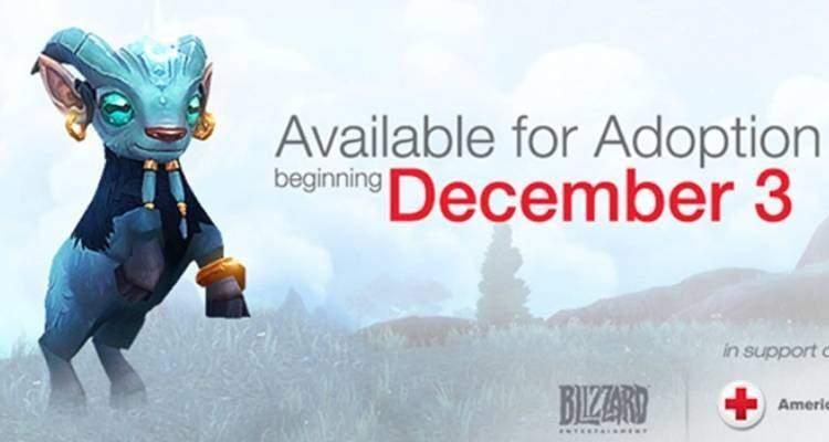 Blizzard: adotta Argi per sostenere la lotta contro Ebola