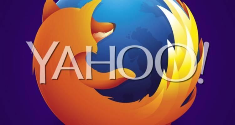 Firefox e Yahoo.