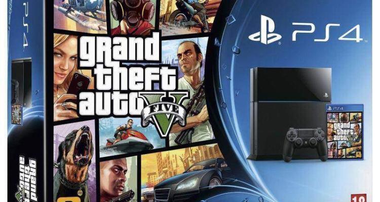 PlayStation 4 (PS4) più GTA 5