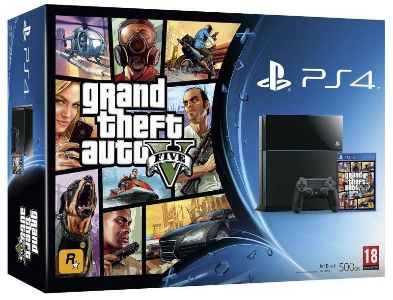 PS4 (PlayStation 4) con GTA 5 in offerta a soli 349€ tramite ebay!