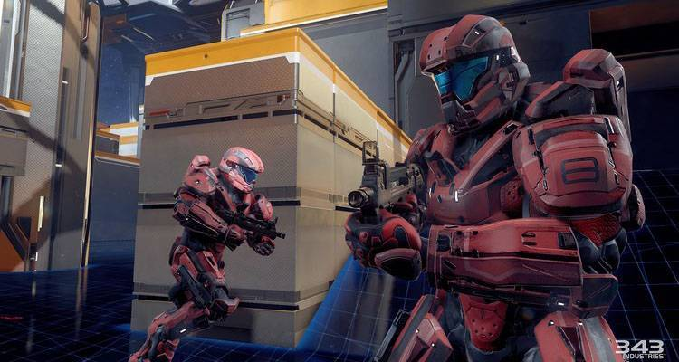 Screenshot tratto dalla beta multiplayer di Halo 5 Guardians.