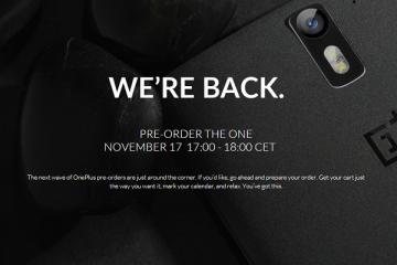 Immagine promozionale OnePlus One