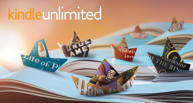 immagine promozionale Kindle Unlimited