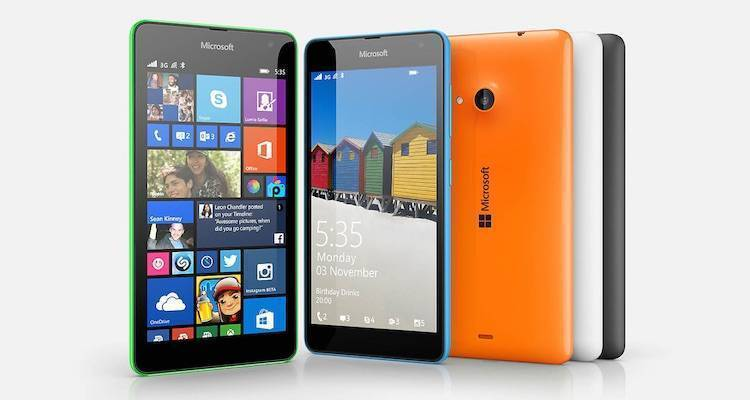 Microsoft Lumia 535: dal 28 novembre in India