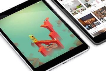 Immagine dei tablet Nokia N1 presente sul sito web dedicato