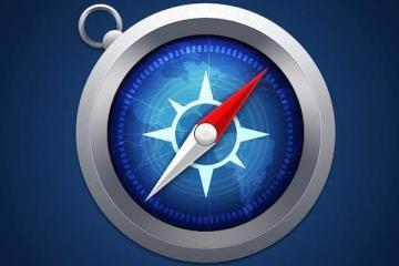 Immagine che mostra l'icona del browser Safari di Apple