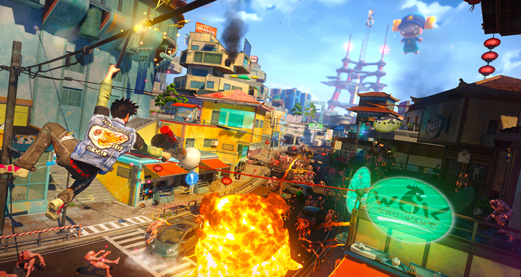Sunset Overdrive.