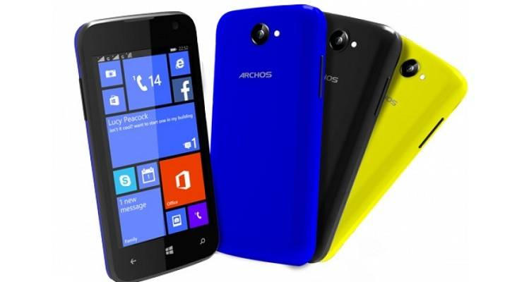 Archos 40 Cesium, nuovo device lowcost basato su Windows Phone