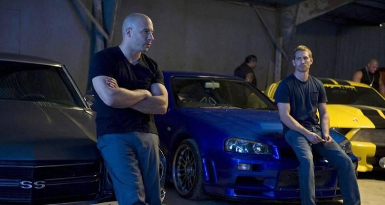 I due protagonisti di Fast and Furious 7