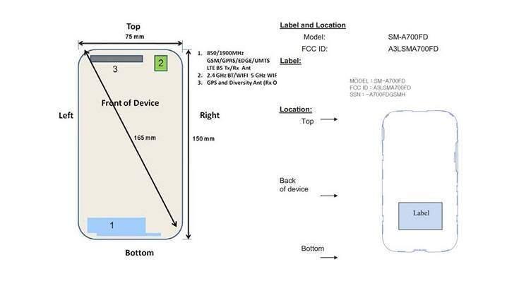 Samsung Galaxy A7, ok dalla FCC: presto l'annuncio ufficiale
