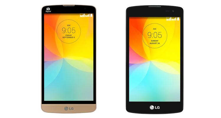 Immagine dei nuovi device lowcost LG G Prime e LG G2 Lite
